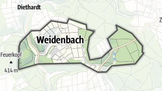 Cartina / Weidenbach