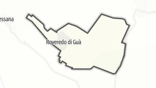Kartta / Roveredo di Guà
