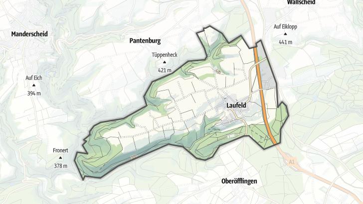 Map / Laufeld