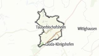 Cartina / Tauberbischofsheim