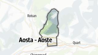 Karte / Saint-Christophe