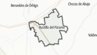 מפה / Bustillo del Páramo