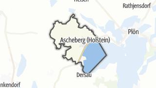 Map / Ascheberg (Holstein)