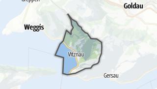 מפה / Vitznau