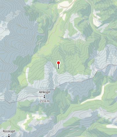 Karte / Lögerhütte 1370 m