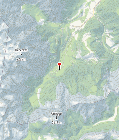 Karte / Baumschlagerreit 724 m