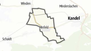 Karte / Minfeld