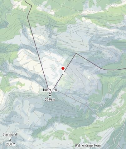Karte / Gottesacker-Plateau