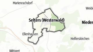 Mapa / Selters (Westerwald)