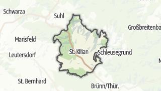 Cartina / Schleusingen