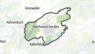 Karte / Oberhausen bei Kirn