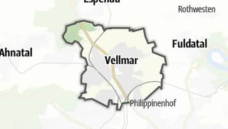 Karte / Vellmar