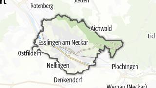 Cartina / Esslingen am Neckar