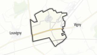 Mapa / Pagny-lès-Goin