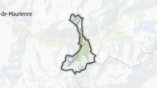 Mapa / Modane