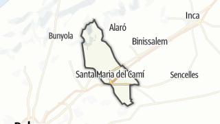 Karte / Santa María del Camí