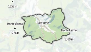 Map / Bardineto