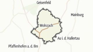 מפה / Wolnzach