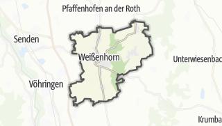 Karte / Weißenhorn