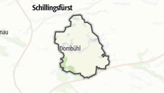 Map / Dombühl