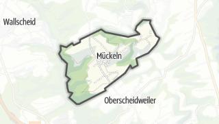 Karte / Mückeln
