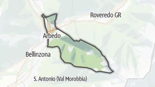 地图 / Arbedo-Castione