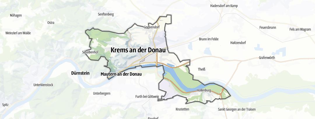 Mapa / Tabernas de vino (cosecha propia) en Krems an der Donau