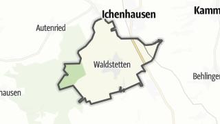 Cartina / Waldstetten