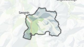 Karte / Tinizong-Rona