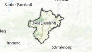 Karte / Eslohe (Sauerland)