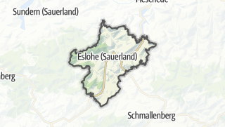 Map / Eslohe (Sauerland)