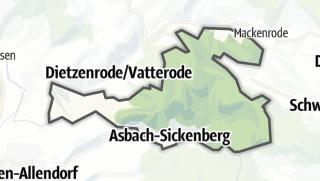 Map / Asbach-Sickenberg