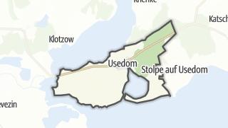 Cartina / Usedom