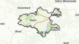 Karte / Mayen-Koblenz