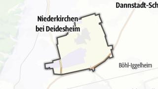 Mapa / Meckenheim