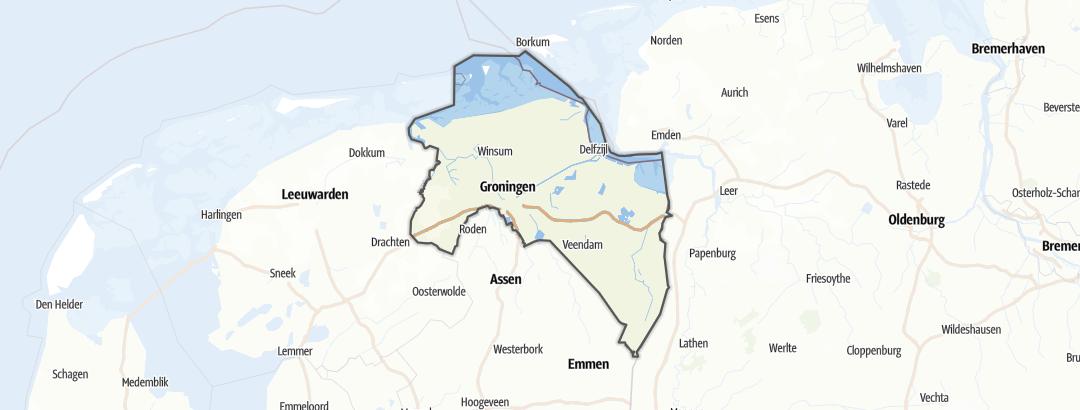 地图 / 在Groningen里的古迹