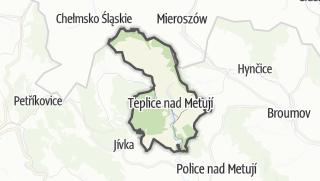מפה / Teplice nad Metují