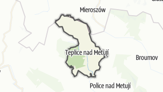 Karte / Teplice nad Metují