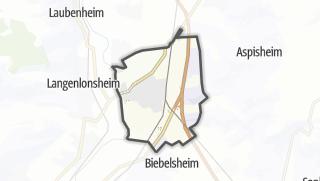 Karte / Gensingen