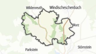 Cartina / Kirchendemenreuth