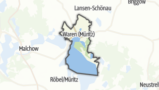Carte / Waren (Müritz)