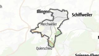 Hartă / Merchweiler
