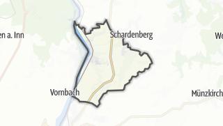 Cartina / Wernstein am Inn