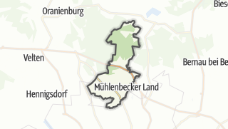 Cartina / Mühlenbecker Land