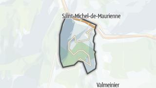 Mapa / Saint-Martin-d'Arc