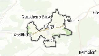 Karte / Bürgel