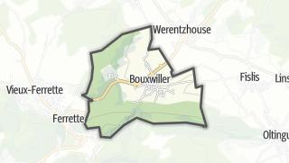 מפה / Bouxwiller