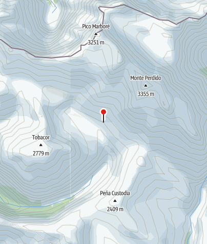 Karte / Refugio de Góriz