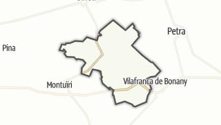 Map / Sant Joan
