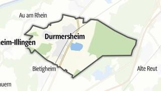 Mapa / Durmersheim